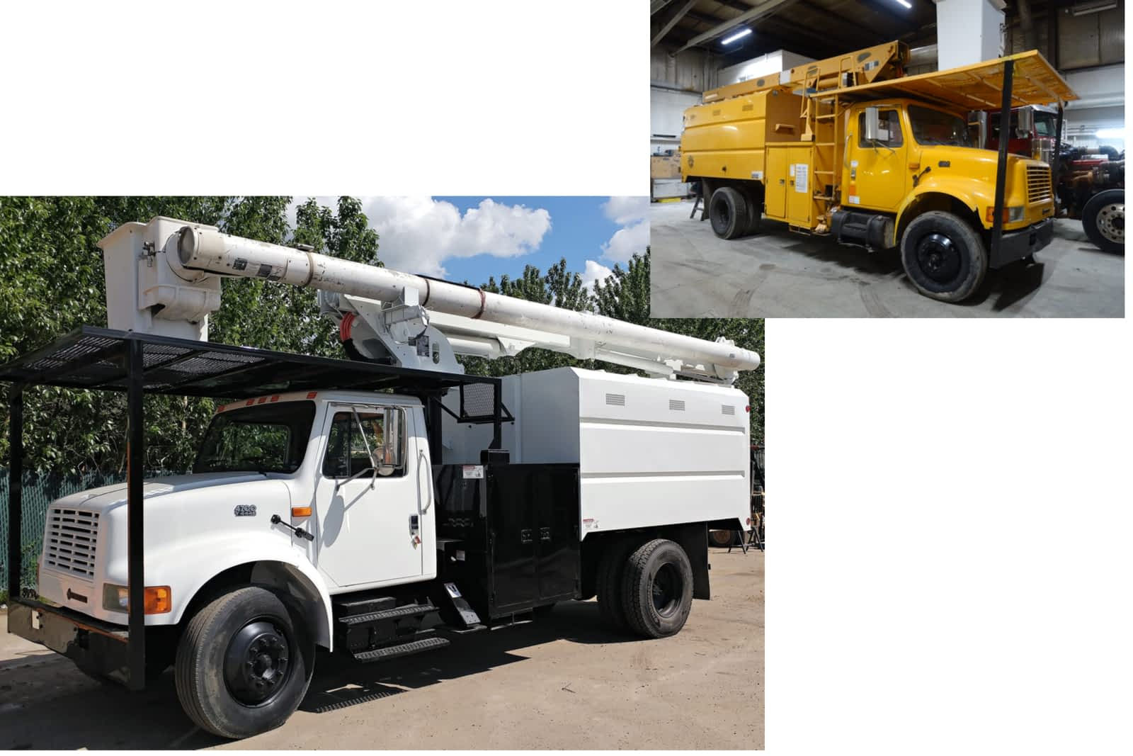 winfield-heavy-truck-collision-repair before and after